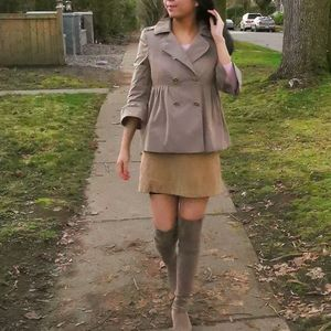 AUTHENTIC Burberry Bell Sleeve Trench Jacket